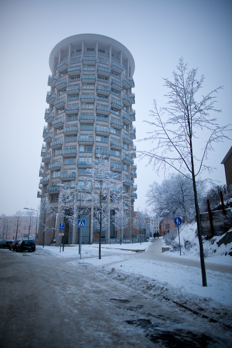 Iced-tower